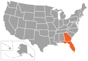 Sun Conference - Image: FSC USA states