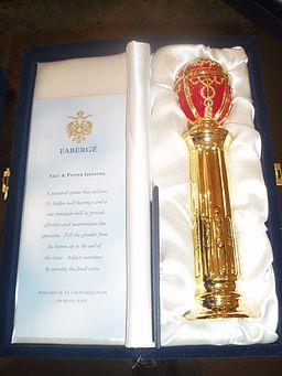 Fabergé salt and pepper grinder