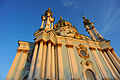 Facade of St Andrew's Church at dawn. Kiev, Ukraine, Eastern Europe.jpg