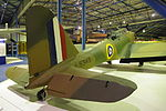 Fairey Battle L5343 tail at RAF Museum London Flickr 6856712459.jpg