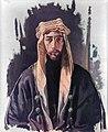 Faisal I of Iraq by William Orpen 1921.jpg
