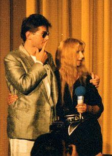 Falco kaj Ursela Monn en 1986