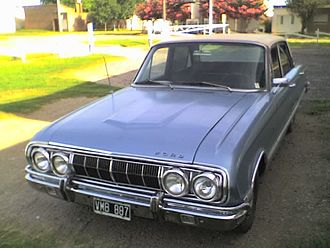 Ford Falcon (Argentina) - A 1970 Falcon manufactured in Argentina
