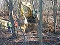 Fall River-Freetown Route 24 Exit 8B (ARRA) Begins Fall 2009- Soil Test Work (4203510115).jpg