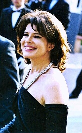 Fanny Ardant - Fanny Ardant, 2005 Cannes Film Festival