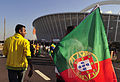 Fans before Brazil & Portugal match at World Cup 2010-06-25 6.jpg