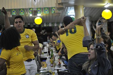 Fans celebrate the victory of the Brazilian team 05.jpg