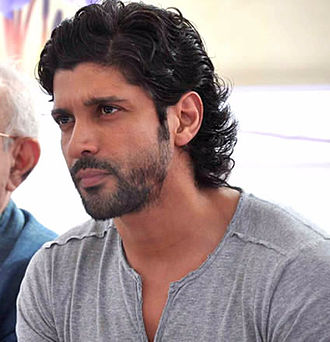 Farhan Akhtar - Akhtar at a tree planting event in 2012.