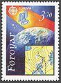 Faroe stamp 209 european space flights - satellites.jpg