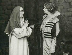 Suor Angelica - Geraldine Farrar as Suor Angelica and Flora Perini as the Principessa in the 1918 premiere