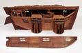 Fartygsmodell-Ubåt. 1770 - 1780 - Sjöhistoriska museet - O 00116.tif