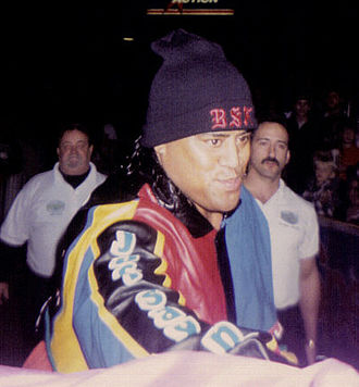 Fatu during his &quotMake a Difference&quot gimmick in 1995 - Rikishi (wrestler)