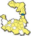 Feldkirchen bei Muenchen - Lage im Landkreis.png