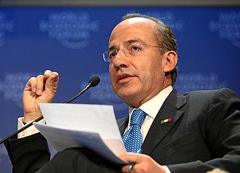 Felipe Calderon%2C World Economic Forum 2009 Annual Meeting