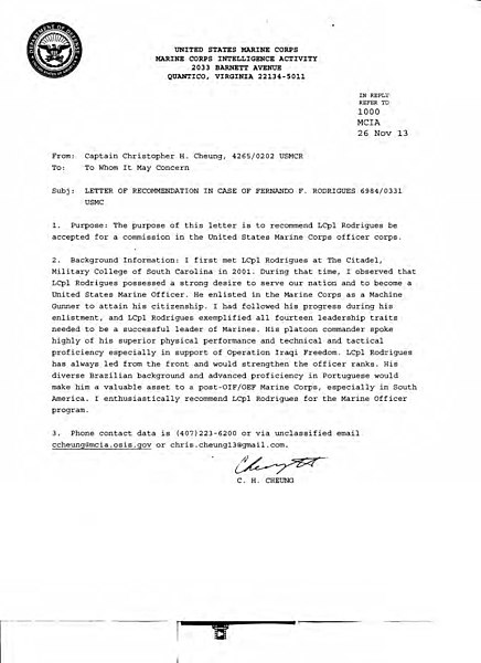 File:Fernando F. S. Rodrigues - Usmc Officer Letter Of