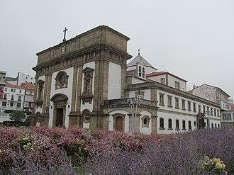 Ferrol, Spain - Neoclassical church Igrexa Castrense de San Francisco