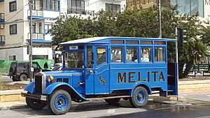 Malta Railway - The introduction of buses contributed to the decline of the Malta Railway.