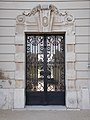 Festetics Palace east, small tower gate in Keszthely, 2016 Hungary.jpg