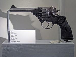 Webley Revolver - Webley Mk IV in .38