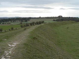 Figsbury Ring hillfort in Wiltshire