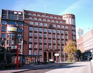 Fritz Schumacher (architect) - Finance agency (Finanzbehörde) Hamburg