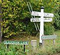 Finger Post at Crossroads, Warninglid, West Sussex. - geograph.org.uk - 63503.jpg