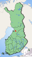 Finland provincial map highlighting Ylikiiminki.png