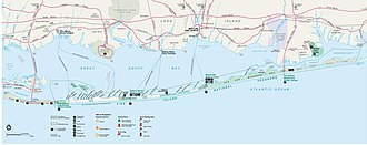 Fire Island - Image: Fire island map
