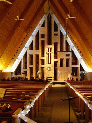 First Baptist Church (Columbus, Indiana) - Sanctuary