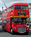 First Devon & Cornwall bus 39374 (JJD 374D) Routemaster RML2374.jpg