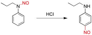 Fischer–Hepp rearrangement - Fischer-Hepp rearrangement