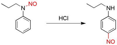 Fischer-Hepp rearrangement