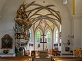 Fischlham Pfarrkirche Chor Fischerkanzel-0359.jpg