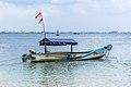 Fishing boat, Karang Bolong Beach, Cilacap 2015-03-21.jpg