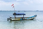 Fishing boat, Karang Bolong Beach, Cilacap 2015-03-21.jpg