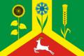 Flag of Vasilevsky selsovet (Saraktash rayon).png