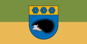 Viļaka - Image: Flag of Viļaka