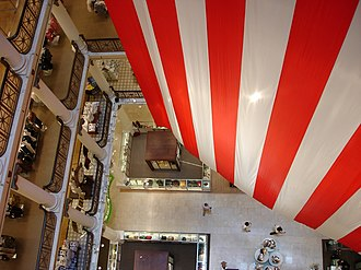 Marshall Field and Company Building - Image: Flagfields