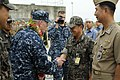 Flickr - Official U.S. Navy Imagery - The 7th Fleet Chief of Staff greets members of the Republic of Korea navy..jpg