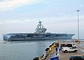 Flickr - Official U.S. Navy Imagery - USS George H. W. Bush departs Norfolk for combat training..jpg