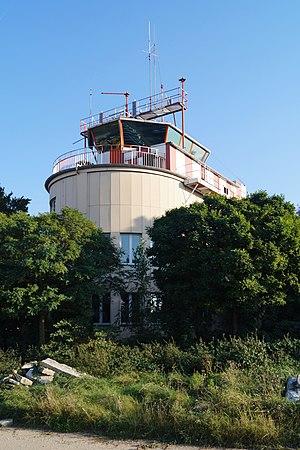Hanau Army Airfield - historical tower building 2016