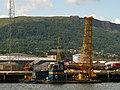 Floating crane, Barnett dock, Belfast - geograph.org.uk - 876862.jpg
