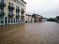 Flooding in downtown Vicenza, Italy - November 1, 2010.jpg