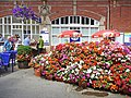 Floral display, Bridlington Station - geograph.org.uk - 1424371.jpg