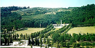 Florence American Cemetery and Memorial - Image: Florence American Cemetery and Memorial 5
