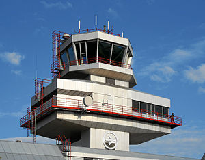 Linz Airport - Control tower