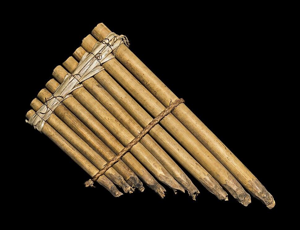 Flute de pan MHNT ETH AC NH 31 Savès