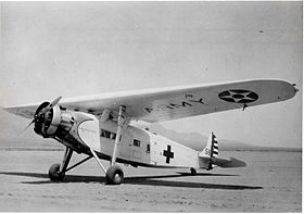Fokker Y1C-15 américain, à usage medical
