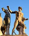 Fontana del Quirinale (Rome) - Statue of Dioscuri.jpg