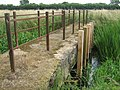 Footbridge near Forstal Farm - geograph.org.uk - 1387977.jpg